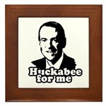 Huckabee for me Framed Tile