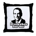Huckabee for me Throw Pillow