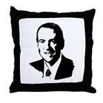 Mike Huckabee face Throw Pillow