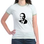 Mike Huckabee face Jr. Ringer T-Shirt