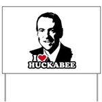 I heart Huckabee Yard Sign
