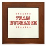 Team Huckabee Framed Tile