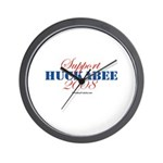 Support Huckabee 2008 Wall Clock