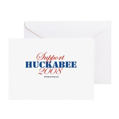 Support Huckabee 2008 Greeting Card
