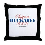 Support Huckabee 2008 Throw Pillow