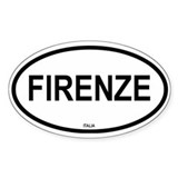 Firenze Oval Stickers