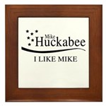 Mike Huckabee: I Like Mike Framed Tile