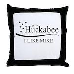 Mike Huckabee: I Like Mike Throw Pillow