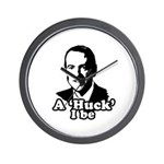 A Huck I be Wall Clock