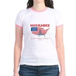 Mike Huckabee for President Jr. Ringer T-Shirt