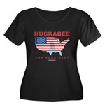 Mike Huckabee for President Women's Plus Size Scoo