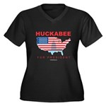 Mike Huckabee for President Women's Plus Size V-Ne