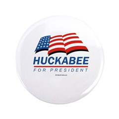"Huckabee for President 3.5"" Button (100 pack)"