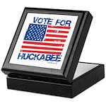 Vote for Huckabee Keepsake Box