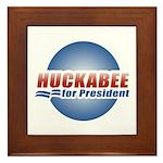 Huckabee for President Framed Tile