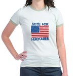 Vote for Huckabee Jr. Ringer T-Shirt