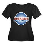 Huckabee for President Women's Plus Size Scoop Nec