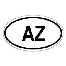 Arizona Oval Decal