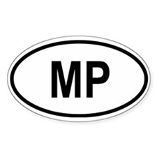 Mariana Islands Oval Decal