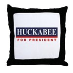 Huckabee for President Throw Pillow