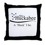 A Huck I be Throw Pillow