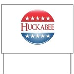 Huckabee Button Yard Sign