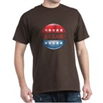 Huckabee Button Dark T-Shirt