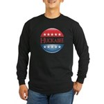 Huckabee Button Long Sleeve Dark T-Shirt