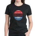 Huckabee Button Women's Dark T-Shirt