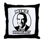 Mike Huckabee is my homeboy Throw Pillow