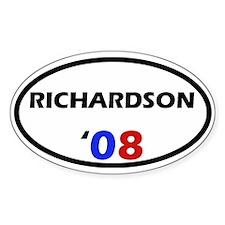 Richardson '08 Oval Decal