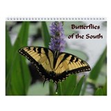 Butterflies of the South Wall Calendar