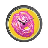 Screaming Monkey Wall Clock
