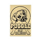 PUGGLE Is My Homedog Magnet
