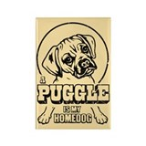 PUGGLE is My Homedog Magnets (10 pack)