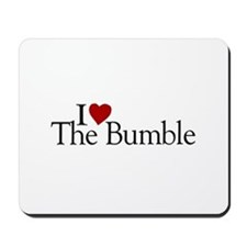 I Love The Bumble Mousepad