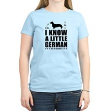 Dachshund -Little German Women's Light Tee