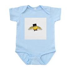 Tuxedo Angel Infant Creeper