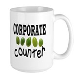 CORPORATE BEAN COUNTER Coffee Mug