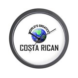 World's Greatest COSTA RICAN Wall Clock
