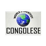 World's Greatest CONGOLESE Rectangle Magnet