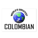 World's Greatest COLOMBIAN Postcards (Package of 8