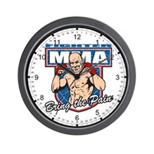 Fighter Bring The Pain Wall Clock