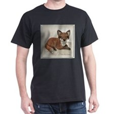 Fox Resting Design T-Shirt