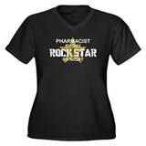 Pharmacist RockStar by Night Women's Plus Size V-N
