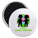 Stop Global Warming Magnet