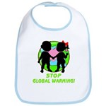 Stop Global Warming Bib
