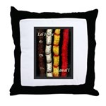 Lei Hulu Throw Pillow