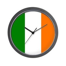 Irish Flag Wall Clock