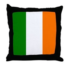 Irish Flag Throw Pillow